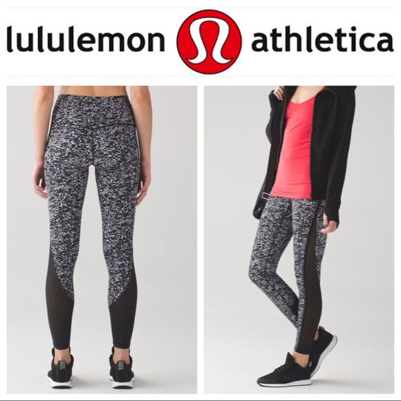 c106ac4d6 lululemon athletica Pants - 🖤🍋EUC Lululemon Deep Breath Tight Iced Wave